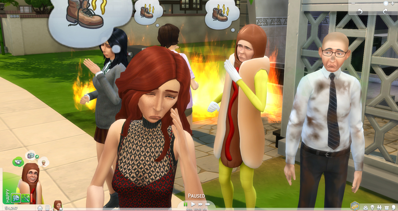 how to turn aging back on sims 4